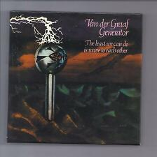 "Van der Graaf Generator empty ""least"" Drawer Promo box for japón mini LP CD VdGG"