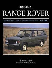 Range Rover 1970-1986 Original Restoration Guide Restaurierung Daten Buch book