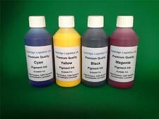 Universal CISS Refill Pigment Ink 4 x 100ml