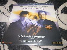 Shes So Lovely Widescreen Laserdisc LD John  Travolta Sean Penn Free Ship $30