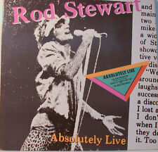 "ROD STEWART - ABSOLUTELY LIVE -   92.3743-1     - 12"" LP (K166)"