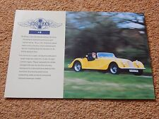 Morgan Plus 8 (3.9) specification sheet - 2000 (no emissions data)