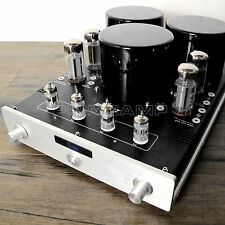 YAQIN MC-10T BK 10L EL34 Vacuum Tube Push-Pull Integrated Amplifier 110v-240v US