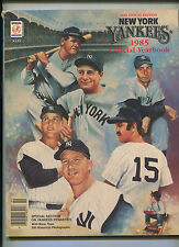 New York Yankees 1985  Official Yearbook  36th Annual Edition   MBX21