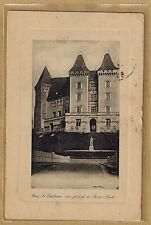 Cpa Pau - le château vue prise de la Basse Plante wn1040