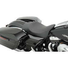 """Drag Low Profile Pinstripe 2"""" Forward Position Reach Solo Seat Harley 08-15"""