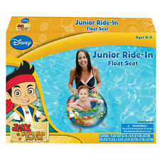 Disney Jake Neverland Pirates Baby Toddler Junior Ride-In Swim Float Seat Boat