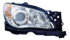 2007 Subaru Impreza New Right/Passenger Side Hawk Eyes Headlight Assembly