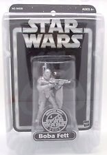 "Star Wars Silver Boba Fett (2003 Saga SDCC Exclusive) 3.75"" Action Figure"
