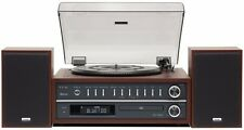 Teac MC-D800 Music Centre USB,Record Player AM/FM Radio CD & Bluetooth- Cherry