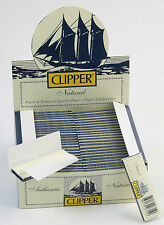 Fine smoking paper Clipper 100 case. Papel de fumar 100 estuches.