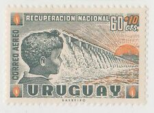 (UG-347) 1959 Uruguay 60c+10c national recovery (D)
