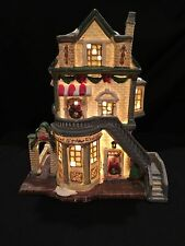 Santa's Workbench Collection  (London Links Townehouse 2002) Lighted