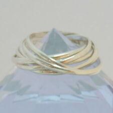 1493.Dreierring,Siebenerring, Silberring 925 Silber RG.65 (20,7 mm Ø) x ca.10 mm