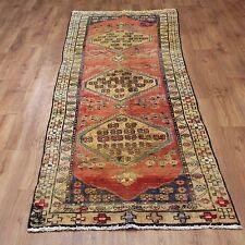 Persian Traditional Vintage Wool 270cmX 87cm Oriental Rug Handmade Carpet Rugs