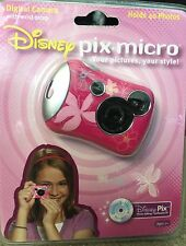 "Disney Pix Micro Digital Camera W/photo Editing Software ""Bundle"