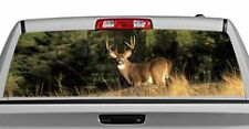 Truck Rear Window Decal Graphic [Deer / Pinch Me] 20x65in DC67408