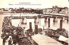 France Royan - Bateau de Bordeaux old unused postcard