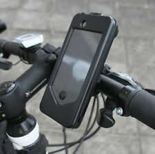 Black New Bicycle Bike Navigation System Phone Holder Case For iPhone 4/4S