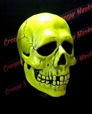 H3 Green Skull Mask Season Of The Witch Myers Halloween Post Don Jason