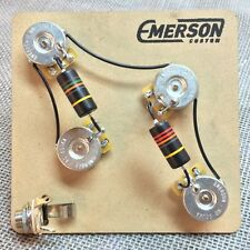 Prewired Kit PRS Style 4 Knob 500k Emerson Custom fits to PRS ®