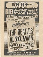The Beatles ABC Theatre BIG Sunday Night Stage Show   Concert Poster   Reprint