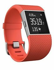 Fitbit Surge Tangerine Large - Fitness Watch GPS - RRP: £199.99 - Smartwatch