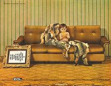 Publicité Advertising 1967  Canapé lit ZOL Cluny  fauteuil