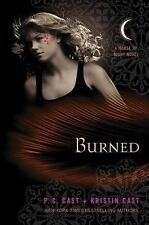 House of Night Novel Burned 7 by P. C. Cast & Kristin Cast 1st Edition Hardcover