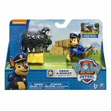 Paw Patrol-Chase e Marley Set * Brand Rescue NUOVO *