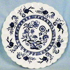 "VINTAGE, J & G MEAKIN, BLUE NORDIC, CLASSIC WHITE,6"" BREAD PLATE (1) (8 AVAIL)"