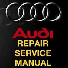 AUDI TT 2006 2007 2008 2009 2010 FACTORY REPAIR SERVICE WORKSHOP MANUAL