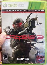 Xbox 360  CRYSIS 3 HUNTER EDITION VideoGames