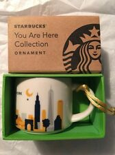 Brand NEW STARBUCKS NEW YORK CITY You Are Here Ornament NYC New for 2015