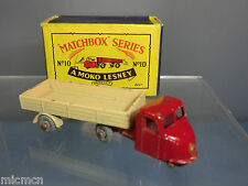 MATCHBOX  LESNEY MODEL  NO.10b SCAMMELL MECHANICAL HORSE  (75mm)   VN  MIB