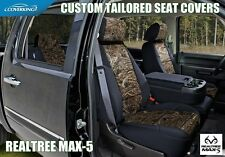 REALTREE MAX-5 CAMO CUSTOM FIT SEAT COVERS FRONTS for CHEVY SILVERADO 1500