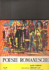 ALDO FABRIZI / UBALDO LAY / RENATO RASCEL - poesie romanesche LP
