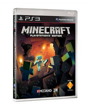 Minecraft Playstation 3 Edition Game PS3 NEW CHEAP PRICE FREE POSTAGE