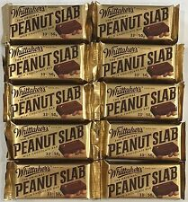902000 10 x 50g BARS OF WHITTAKER'S THE ORIGINAL PEANUT SLAB MILK CHOCOLATE, NZ