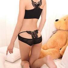 Sexy Womens Lady Panties Briefs Knickers Bikini Lingerie Underwear Sets Black