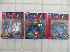 3 MARVEL SPECIAL EDITION 2 PACKS SPIDERMAN VENOM DOCTOR OCTOPUS PUNISHER FIGURES