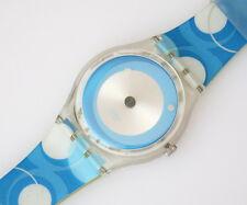 PSYCHEDELIC BLUE - Swatch Gent - GE110 - Neu und ungetragen