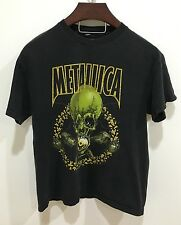 Metallica vintage rock t-shirt size LARGE four 4 leaf clover