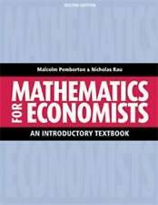 Mathematics for Economists: An Introductory Textbook by Malcolm Pemberton,...