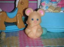 Fisher Price Loving Family Dollhouse Nursery Mouse Toy w/Teal Ball