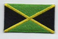 Embroidered JAMAICA Flag Iron on Sew on Patch Badge HIGH QUALITY APPLIQUE
