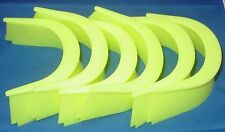Pool Table Pocket Liners Neon Fluourescent Yellow - Set of 6 Glow In The Dark