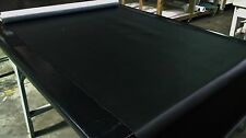 "5 YARDS CLASSIC BLACK MARINE OUTDOOR AUTO FABRIC BOAT UPHOLSTERY 54""W VINYL"