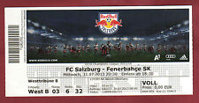 Orig.ticket CHAMPIONS LEAGUE 13/14 RED BULL Salisburgo-Fenerbahce Istanbul