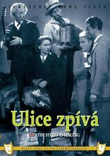 Ulice zpiva (The street is singing) DVD box Czech comedy movie English subtitles